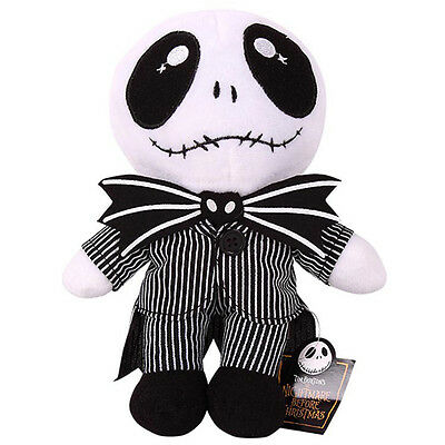New Xmas Gift Nightmare Before Christmas Jack Skellington Soft Plush Toy Doll