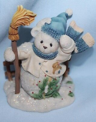 Cherished Teddies Buddy and the North Wind Shall Blow 2000 winter holiday