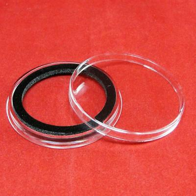 4 Air-Tite Y47mm Ring Coin Holder Capsules for Coins Less than 5.48mm Thick