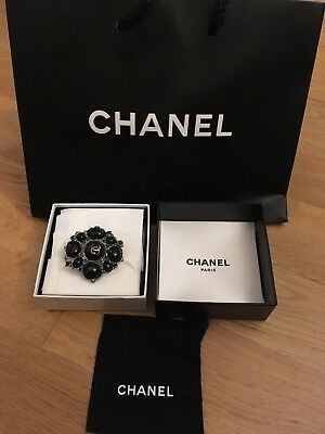 Genuine Chanel Brooch with original box and pouch - NEW See photos....