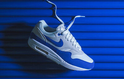 sports shoes 156d0 91f4f NIKE AIR MAX 1 OG 908375-102 Game Royal Neutral Grey Men s