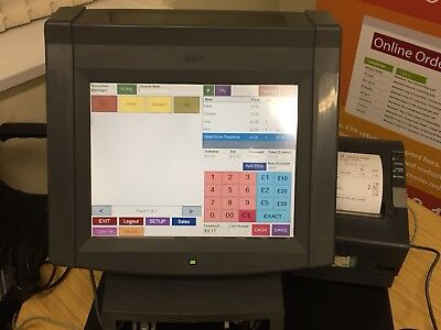 "12"" Touch System & Printer For Retail Store Jewellers, Off-licence Etc"