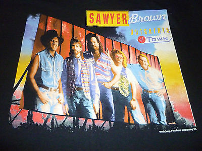 Sawyer Brown Vintage 1993 Tour Shirt ( Used Size XL ) Very Nice Condition!!!