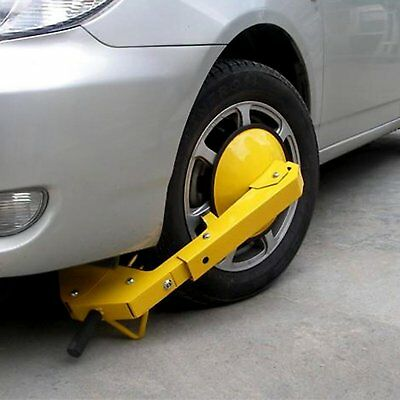 Heavy Duty Parking Boot Car Tire Claw Wheel Clamp Truck Trailer Lock Anti Theft