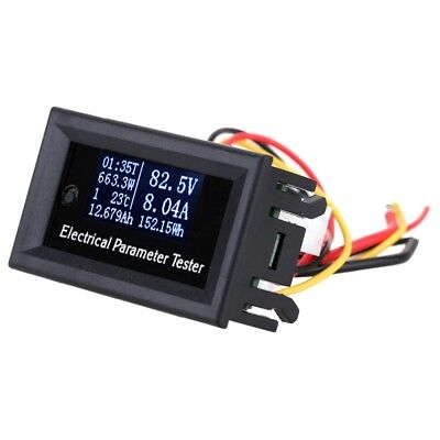 10A Multifunctional OLED Current Voltmeter Thermometer Battery Capacity Tester