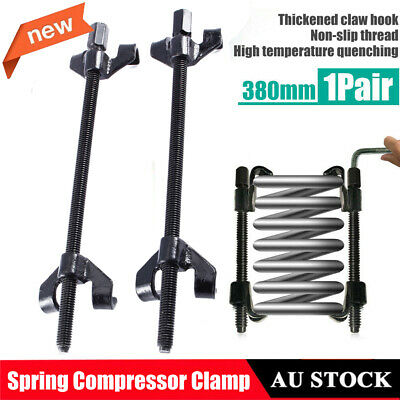 2x Coil Spring Compressor Clamp Heavy Duty Car Truck Auto Installer Tool 380mm