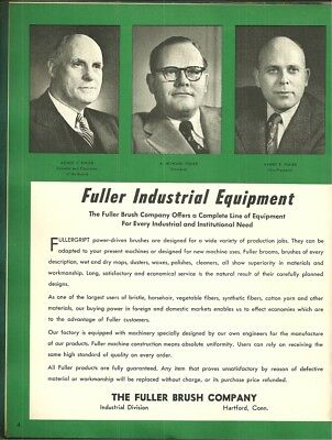 Industrial History The Fuller Brush Company, Hartford, Connecticut catalog 1952
