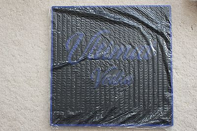 """Ultimat Vodka Rubber Bar Mat, LARGE 17"""" x 17"""" square. Brand New in package"""
