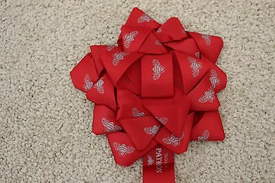 "Patron Tequila Holiday Ribbon w Bow 5"" Bow 24"" Ribbon NEW IN PACKAGE"