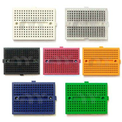 Seven colors Mini Solderless Breadboard 170 Tie Point BB170 Test Develop US SHIP