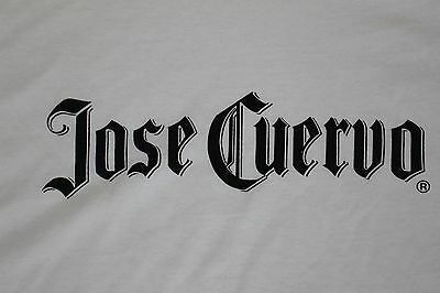 Jose Cuervo T Shirt White, Fruit of the Loom MEN'S SIZE XL  New Never Used