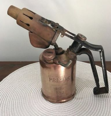 Vintage collectible  Primus Kerosene oil Blowtorch Model 632 - Made in Sweden
