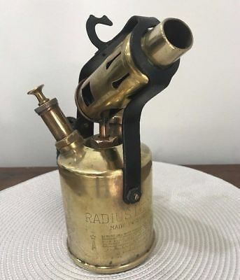 Vintage collectable Radius kerosene oil blowtorch No 52 - Made in Sweden