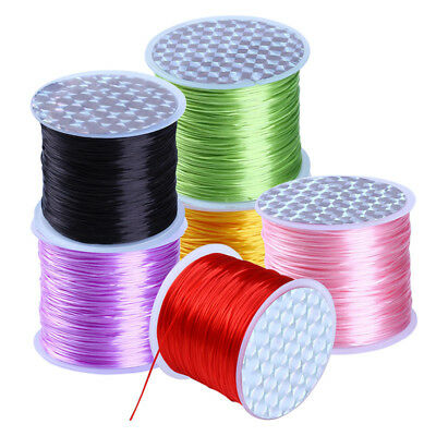 80m Nylon Cord Thread Chinese Knot Macrame Beading Bracelet Braided 1mm