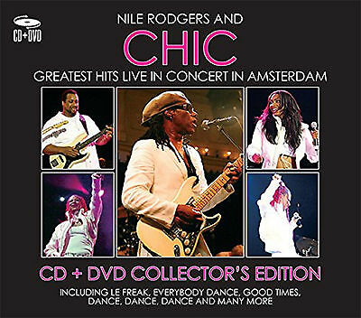 Nile Rodgers & Chic Greatest Hits Live Cd & Dvd Collectors Edition New & Sealed