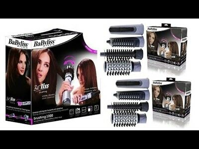 BaByliss Beliss 2735E & - Rotating Brush Hair Styler Ionic 1000W/Hair dryer