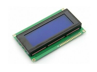 Display LCD Retroilluminato BLU 20x4 - Arduino - Module Blue Screen - 2004-2004A