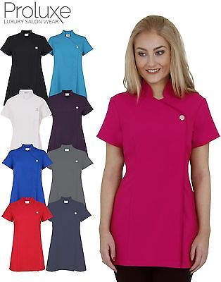 Beauty tunic hairdressing spa massage therapist health for Spa uniform canada