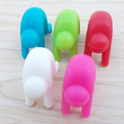 2PCS Durable Silicone Little People Pot Lid Lifters Home Kitchen Tool Useful Hot