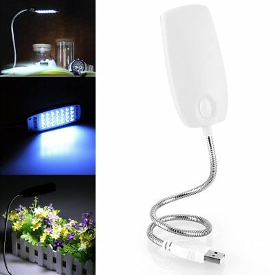 Flexible USB 28 LED Light Reading Lamp Bright Switch For Computer Notebook PC