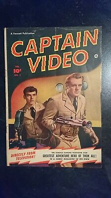 Captain Video #1 (Fawcett Publications, 1951) Condition: GD/VG....