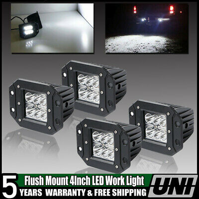 4inch 24w Cree Work Led Pods Work Light Flush Mount Offroad