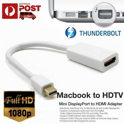 Thunderbolt Mini Display Port DP to HDMI Adapter For Microsoft Surface Pro 5 4 3
