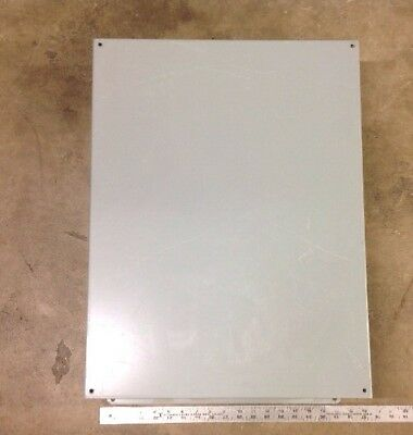 Hoffman Electrical Metal Enclosure 24x18x6 Cover Box Cnc Electronics