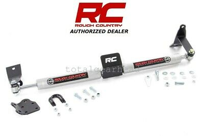 03-12 DODGE RAM 2500 3500 4WD Rough Country Dual Steering Stabilizer  [8749530]