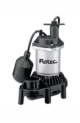 NEW Flotec 1/3 HP Submersible Sump Pump FPZS33T High-Output Performance