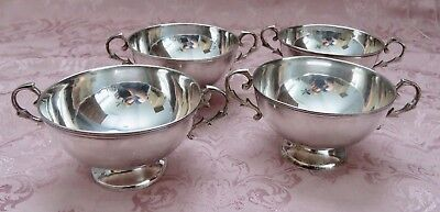 A SET of 4 South American CASA Candela Soup Cups