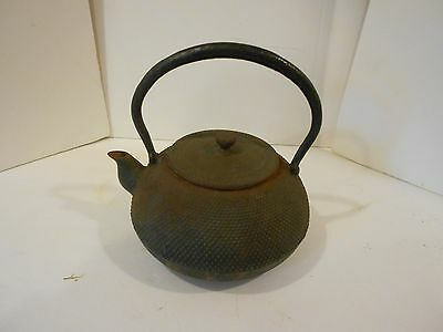 Old Pattern Cast Iron Teapot Kettle I was told Over 100 Years Old Rusty