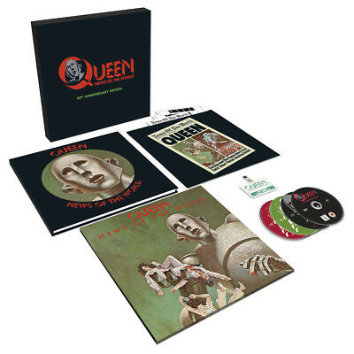 QUEEN - News Of The World. 40 Th Anniversary Edition(3CD+DVD+LP) PRE-ORDER17/10