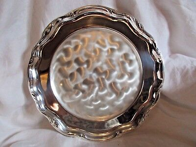 """Wmf-Ikora Tarnish Resistant 12"""" Silver Plated Plate Tray Made In Germany"""