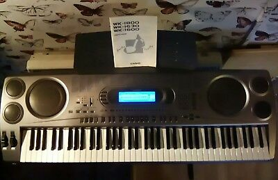 Casio Ctk 2100 Keyboard With Adjustable Stand Good