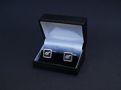Greyhound Cufflinks Boxed Gift Dog Racing English Pewter Cuff Links FREE UK POST