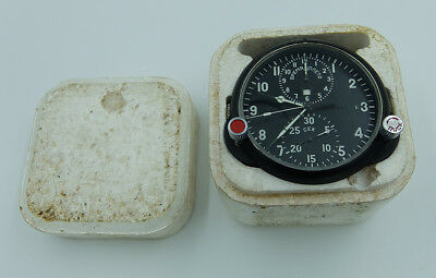 NEW! AChS-1M Russian Soviet USSR Military AirForce Aircraft Cockpit Clock #94894