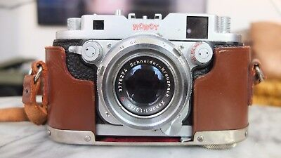 Robot Royal Mod III Camera with Schneider Xenon 1,9 40mm lens and leather case