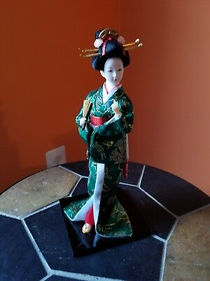 Traditional Chinese Art Silk Figurine Doll Statue-Qin Keqing