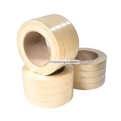 """16 Rolls 3/4"""" Automotive Auto Body and Painters Masking Tape Made in USA - 2nds"""