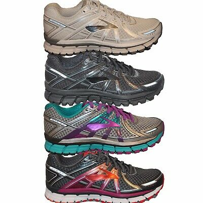 Womens Brooks Adrenaline GTS 17 Moderate Stability Running Shoes Sneakers NIB