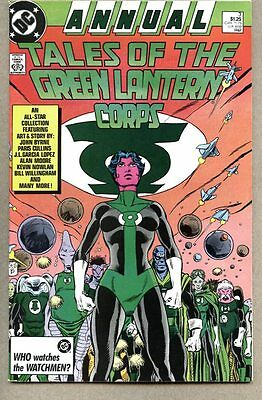 Green Lantern Annual #3-1987 fn Blackest Night Alan Moore