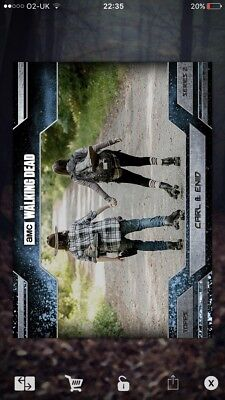 The Walking Dead Card Trader FULL ALLEGIANCE WAVE 2 ICE SET W/ BOTH AWARDS