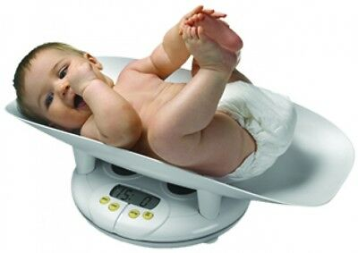 Salter Baby Infant Toddler Bath Weight Scale Growth Chart Digital LCD Display 44