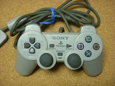 Sony Official Dual Shock Controller pad PS1 / Playstation 1 SCPH-1200 japan