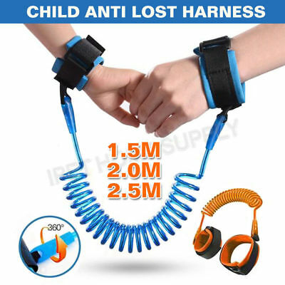 Child Baby Anti-lost Safety Leash Harness Wrist Link Toddler Belt Hand Strap