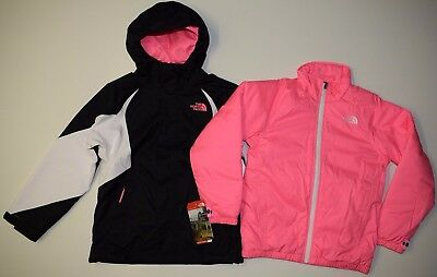 The North Face Girls Youth Kira Triclimate 3 in 1 Snow Ski Jacket S M L XL NEW