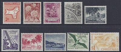 Christmas Island 1963 Definitives Stamp set