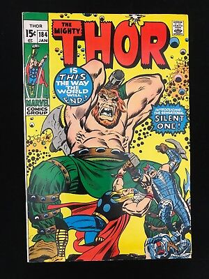 Thor #184 Vg Marvel Comics Bronze Age Mighty Thor!