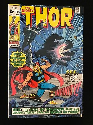 Thor #185 Vg Marvel Comics Bronze Age Mighty Thor!